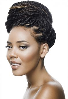angela simmons box braids | Angela Simmons' box braids