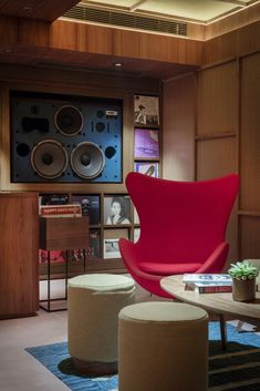 A beautiful audiophile listening space and vinyl library has opened in Hong Kong - The Vinyl Factory - the Home of Vinyl
