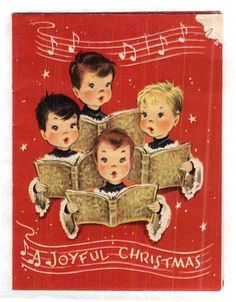 I have this Christmas card...it's very old