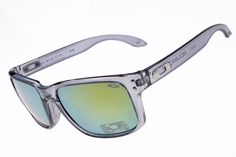 New Oakley Holbrook Sunglass Transparent Grey Frame 3342