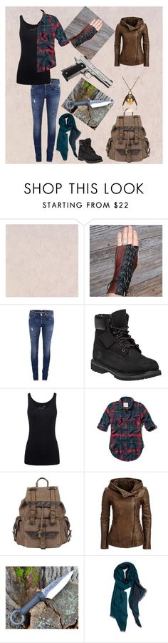 """""""Hunting Angel"""" by silk-fur on Polyvore featuring ONLY, Timberland, Juvia, Abercrombie & Fitch, Wilsons Leather, rag & bone, women's clothing, women, female and woman"""