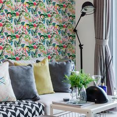 Currently inspired by: Undergrowth Wallpaper Tiles on Fab.com