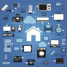 8 ways to automate your home with your phone #infographic