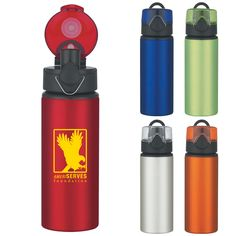 Custom   Promotional BPA Free Logo Water Bottles from The Icebox e711f567af86