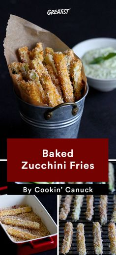 We're talking chips, fries, pizza crust... all made from zucchini. #healthy #zucchini #lowcarb #recipes https://greatist.com/eat/low-carb-zucchini-recipes