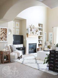 fall home tour, diy, home decor, living room ideas, seasonal holiday decor
