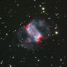 """Pequena Nebulosa do Haltere. Messieur 76. """"Constelação Perseus""""."""