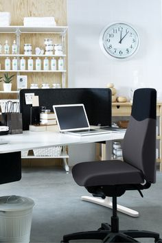 Start With Business Class Comfort! The Better You Feel, The Higher You  Perform. Thatu0027s Why IKEA Office Chairs   Like The VOLMAR Swivel Chair   Are  Designed ...