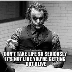 Sort of true in a very dark manner