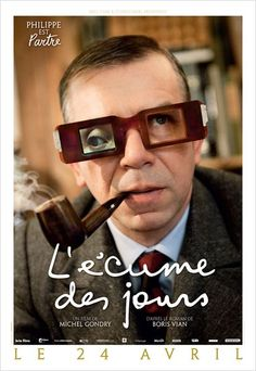 "French poster for Gondry's ""L-ecume des jours"" (Mood Indigo) love Jean-Sol Patre!"