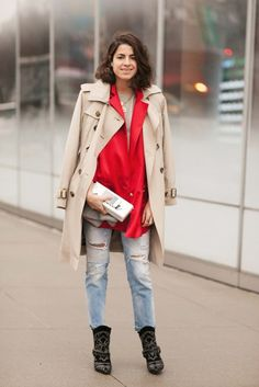 Leandra Medine, effortless.