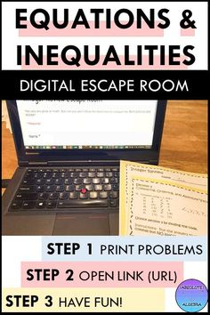 Literal Equations, One Step Equations, Solving Equations, Algebra Activities, Math Resources, Algebra Projects, Math Games, Systems Of Equations, Secondary Math