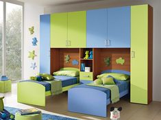 Italian Kids Bedroom Composition VV S026BG - $3,065.00 Kids Bedroom Furniture Design, Modern Kids Bedroom, Cool Kids Bedrooms, Wardrobe Design Bedroom, Kids Bedroom Designs, Bedroom Bed Design, Home Room Design, Small Room Bedroom, House Rooms