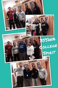 College Spirit Day--staff wear college shirts and gear to promote college awareness.