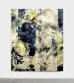 """Steve Byrnes; """"UNTITLED XXXIII (CAESURA SERIES)"""" , 72""""x 60"""""""