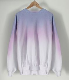 Image of Pastel Crayon Dip Dye Sweater COMING SOON