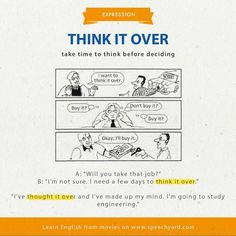 Expression - Think it over