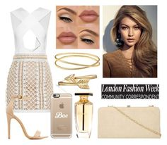 """""""I'm Sorry"""" by larisilva21 ❤ liked on Polyvore featuring Balmain, Charlotte Russe, Dorothy Perkins, Bling Jewelry, Casetify and Maison Margiela"""