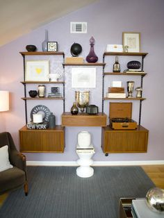 Eclectic Living Room With Fireplace Designers Portfolio HGTV