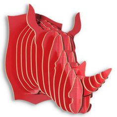 3D Faux Rhinoceros Head- I would hang it over my bed.