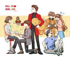 Kill Me Heal Me, Ji Sung