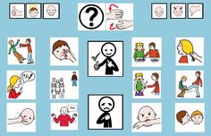 """""""Tablero de comunicación: agresiones"""". Recopilación de diferentes tableros de comunicación de 12 casillas, organizados por necesidades básicas y centros de interés. Los tableros pueden imprimirse tal como aparecen en los documentos o bien se puede modificar el contenido, la forma, el color, etc., para adaptarlos a las características individuales de cada usuario. Pueden utilizarse también para trabajar distintos repertorios de vocabulario agrupado por temas o categorías."""