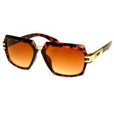 Cool Designer Celebrity Fashion Square Aviator Sunglasses Shades A1360