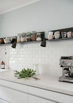 Anfang April hatte ich fest vor , in der nächsten Woche unserer Küche das gewünschte Fresh up zu gönnen. Gut, zeitlich hab ich da...