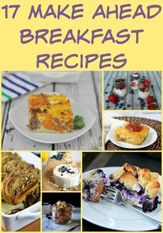 Choose from these delicious make ahead breakfast recipes for the perfect Christmas morning dish. From French toast to casseroles, this list has it all.
