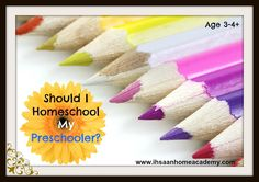 Homeschooling information on whether to homeschool preschool. toddler lesson plans fun learning activities Montessori printables how to start daily routine learning classroom teaching preschool Kids Activity Books, Learning Activities, Activities For Kids, Learning Arabic, Fun Learning, Homeschooling Resources, Curriculum, Lesson Plans For Toddlers, Ramadan Crafts