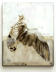 Nunzio Paci Title: If I can't walk I will learn to fly Dim: cm Tecnique: pencil, oil, resins, bitumen on canvas, 2012 Anatomy Drawing, Anatomy Art, Animal Anatomy, Nunzio Paci, Art Du Monde, A Level Art, Ap Art, Italian Artist, Illustrations