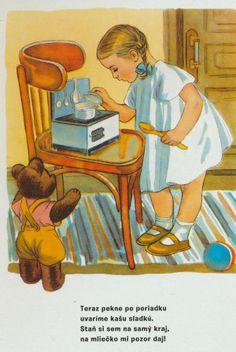 Môj macík, Z AlexandrovováCzechoslovakian children's book illustrations Children's Book Illustration, Book Illustrations, Socialism, Views Album, My Childhood, Childrens Books, Fairy Tales, Preschool, Monogram