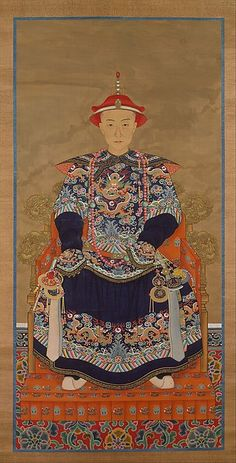 Unidentified Artist | Portrait of Qianlong Emperor As a Young Man | China | Qing dynasty (1644–1911) | The Met