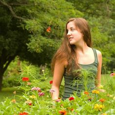 The lovely @ericalaynem1 caught in a butterfly moment seven years ago today. #flashbackfriday #photoshoot #butterfly #decisivemoment #nature