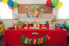 What's better than fun birthday party theme ideas for kids parties? Something that gets them excited to have the party and you fun to throw it? We've gathered a bunch of great kids birthday themes for you to check out! Girl 2nd Birthday, Kids Birthday Themes, Monster Birthday Parties, Elmo Party, Elmo Birthday, First Birthday Parties, First Birthdays, Party Party, Sesame Street Party