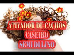 Super ATIVADOR de cachos Como fazer SEMI DE LINO caseiro #ninadellarosa #cabelos #hair #haircut #alicesalazar #camilacoelho #camilacoutinho #natureba