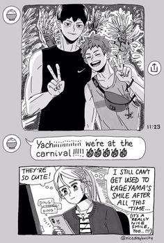 Haikyuu Manga, Haikyuu Karasuno, Haikyuu Funny, Haikyuu Fanart, Kageyama, Hinata, Manga Anime, Kagehina Cute, Hiro Big Hero 6