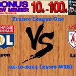Prediksi Pertandingan Lyonnais Melawan Lille OSC 5 Oktober 2014 France League One