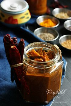 Mango Pickle by Sia Krishna, via Flickr