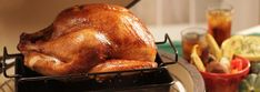 Once you try this brined turkey, you'll agree that nothing does a better job of roasting meats than the EGG. The turkey has a subtle smoky flavor and is moist and succulent, but if you prefer a bolder smoky flavor, add more chips in increments during cooking. This turkey would be great for holidays, and you can use the leftovers to make wonderful sandwiches.