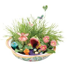 Wee Enchanted Fairy Garden Kit : The Animal Rescue Site