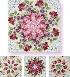 Bella White Kaleidoscope Quilt Kit