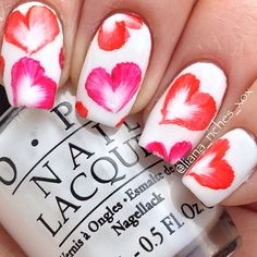 valentine by liana_riches #nail #nails #nailart