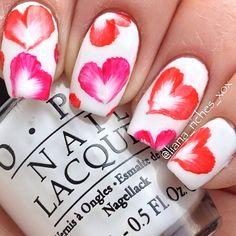 valentine by liana_riches #nail #nails #nailart