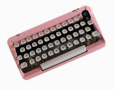 Vintage PInk Typewriter iPhone 4 Case (inspired) , Retro Type Writer iPhone Case, Art iPhone 4 Cover , iPhone 4 Hard from familycase on Etsy. Bling Phone Cases, Disney Phone Cases, Ipod Cases, Cute Phone Cases, Samsung Cases, Iphone Case Covers, Phone Cover, Iphone 5c, Coque Iphone