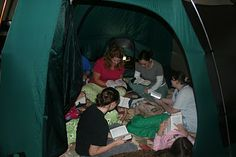 And We Dwelt in a Tent... class activity