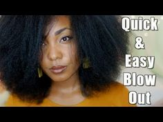 My Natural Sistas Explains How To Blow Dry Natural Hair Quickly And Effectively - Kimberly Elise