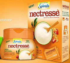 FREE Splenda Nectresse No Calorie Sweetener Sample Pack https://secure.nectresse.com/offers