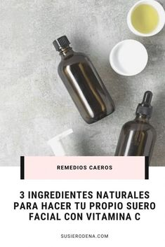 Cómo hacer tu propio suero facial con vitamina C. #recetacasera #suero #facial #vitaminac Homemade Beauty Recipes, Face Wrinkles, Diy Beauty, Natural Remedies, Natural Beauty, Personal Care, Skin Care, Cosmetics, Kerala