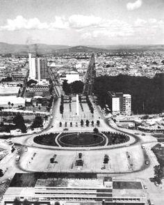 Plaza Benito Juárez, Av. 16 de Septiembre y Washington, Guadalajara, Jalisco, México 1960   Arq. Julio de la Peña